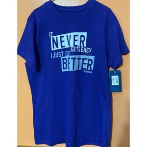 It Never Gets Easy I Just Get Better T-Shirt